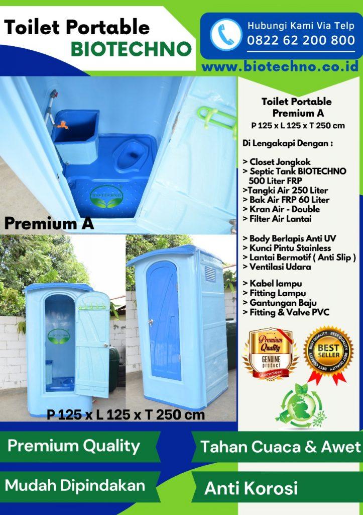 Toilet Portable, Jual Toilet Portable, Pabrik Toilet Portable